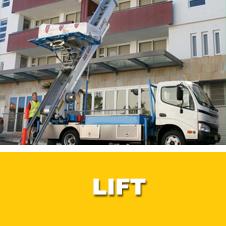 Location d'un lift pour vos meubles chez Meubles Pas Chers à Bruxelles (Saint-Gilles)